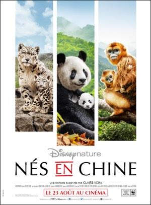 Affiche Nés en Chine, Disneynature