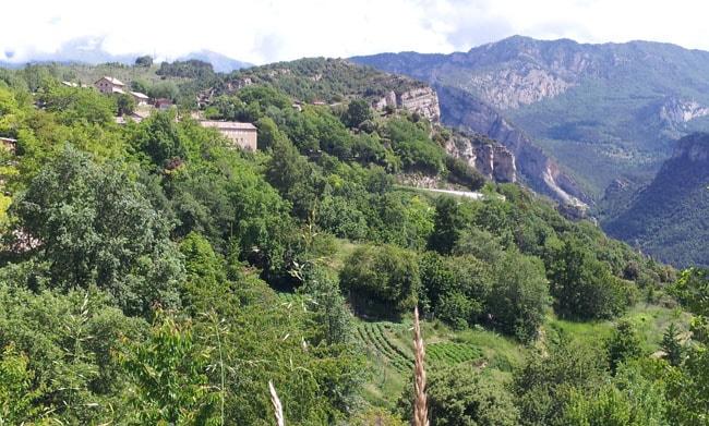 Panorama Pyrénées catalanes