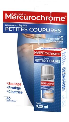 Pansement Liquide Petites Coupures Mercurochrome