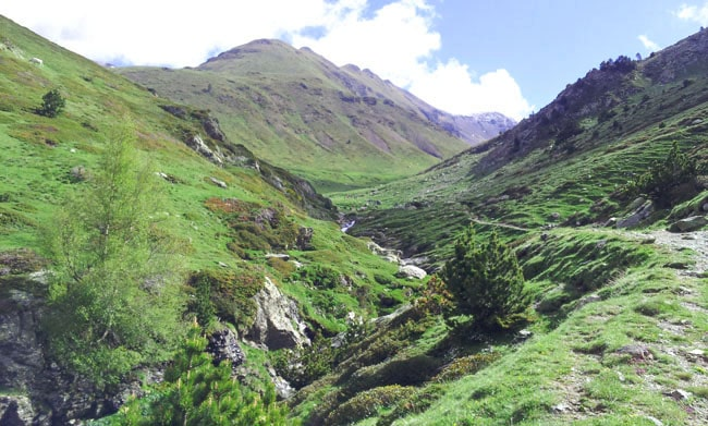 Sentiers de randonnées au Vall de Nuria