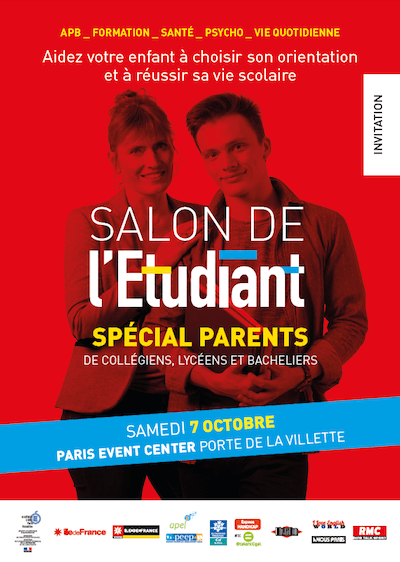 Affiche du Salon des Parents 2017