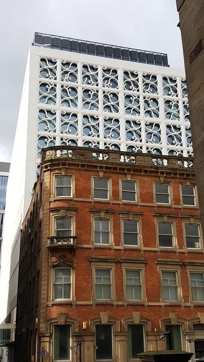Manchester mélange de styles architecturaux
