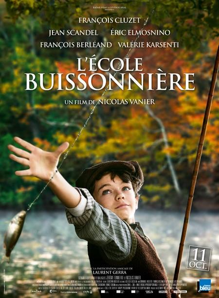 affiche film L'école buissonnière de Nicolas Vanier