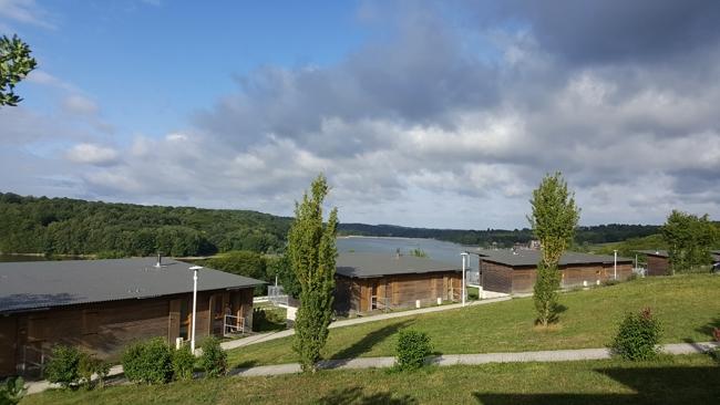cottages avec vue sur lac du Valjoly Madame Vacances