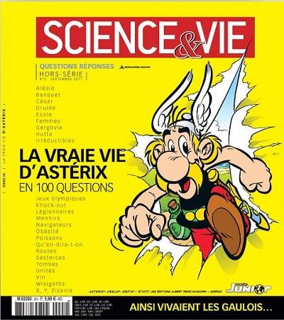 Hors-série La vraie vie d'Astérix de Science & Vie