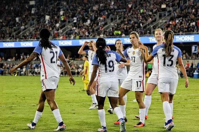 Equipe de football féminine