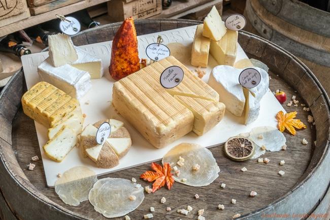 plateau de fromages du nord