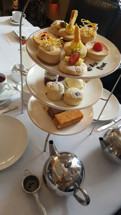 Afternoon Tea au Radisson Blue Edwardian Manchester
