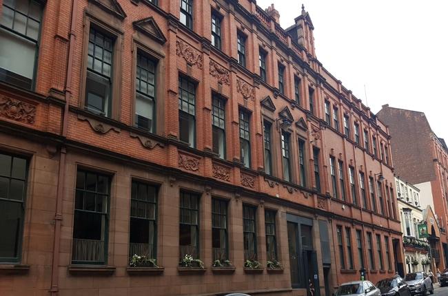 Manchester façades immeubles briques
