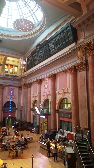 Manchester Stock Exchange café