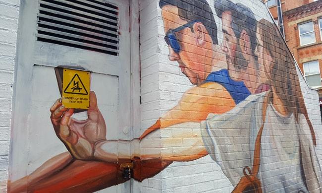 Mancester street art