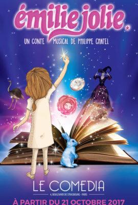 Affiche spectacle enfants Emilie Jolie