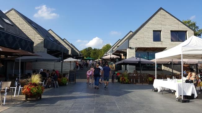 coeur de station commerçant du Valjoly
