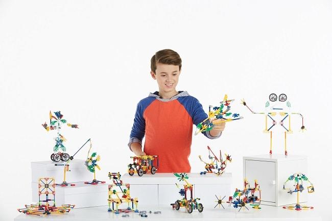 boite de jeux de construction Collect'Box de K'nex