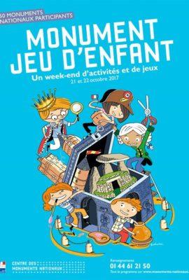 affiche Monument jeu d'enfant 2017