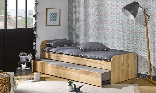 comment am nager une petite chambre nos astuces gain de place. Black Bedroom Furniture Sets. Home Design Ideas