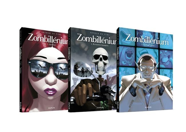 BD Zombillenium, 3 tomes
