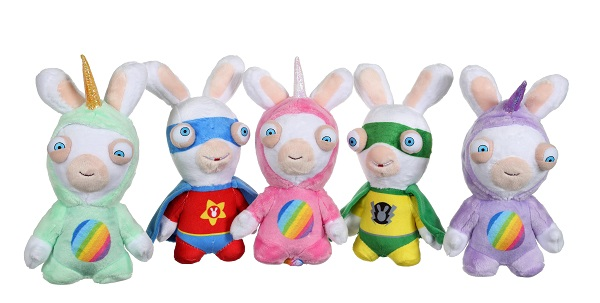 peluches lapins crétins sonores