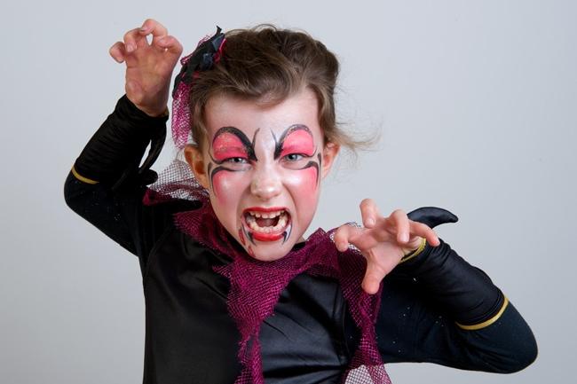 tuto maquillage vampire Halloween