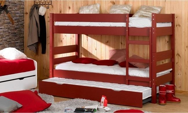lit tiroir avec sommier