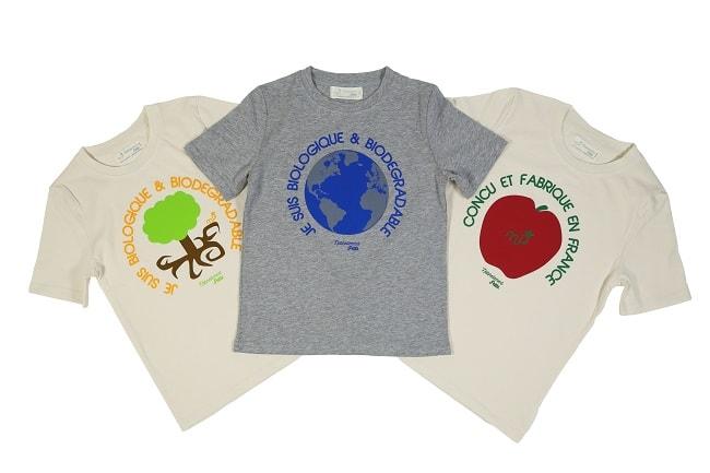 T-shirts garçon coton bio