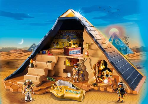 playmobil history 5386 pyramide du pharaon mafamillezen. Black Bedroom Furniture Sets. Home Design Ideas