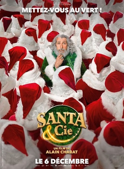 affiche Santa & Cie d'Alain Chabat