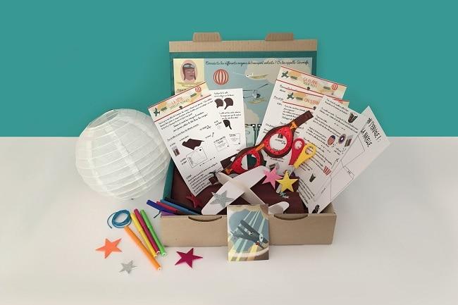 box loisirs créatifs L'Atelier imaginaire
