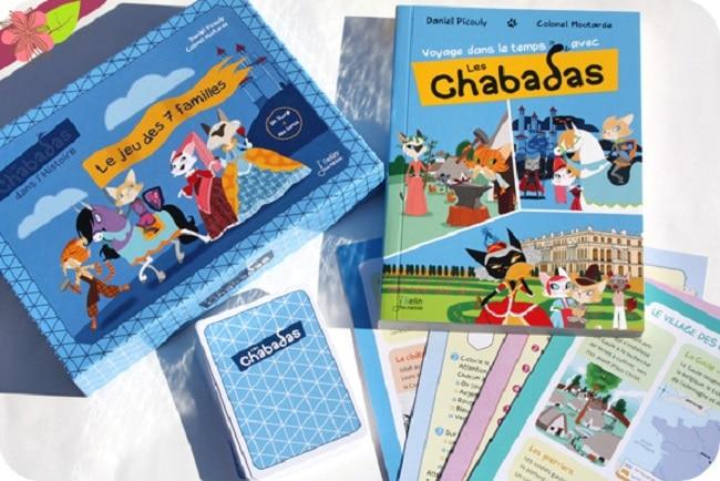 coffret les Chabadas dans l'Histoire