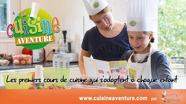 Cuisine Aventure, cours de cuisine enfants par correspondance