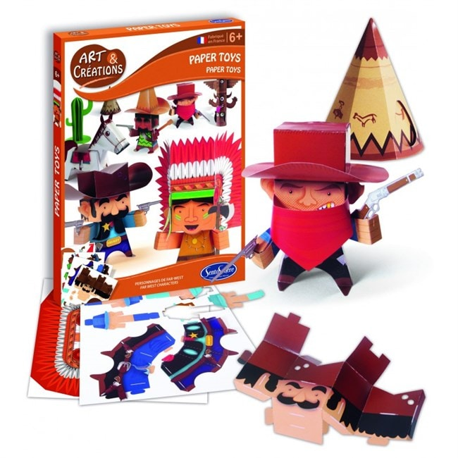 paper toy far west sentosphere