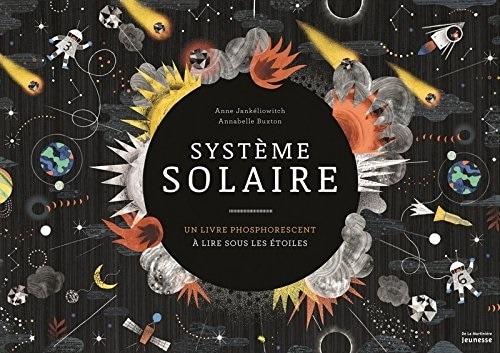 Système solaire livre phosporescent