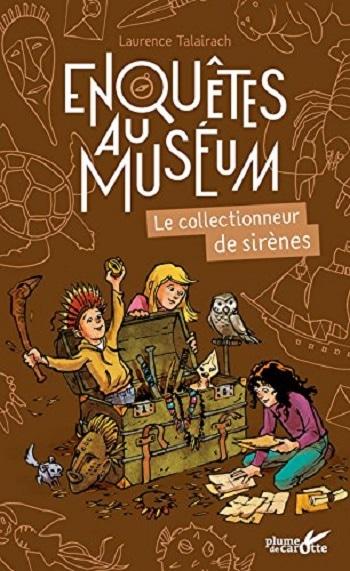 collection Enquêtes au Muséum chez Plume de carotte