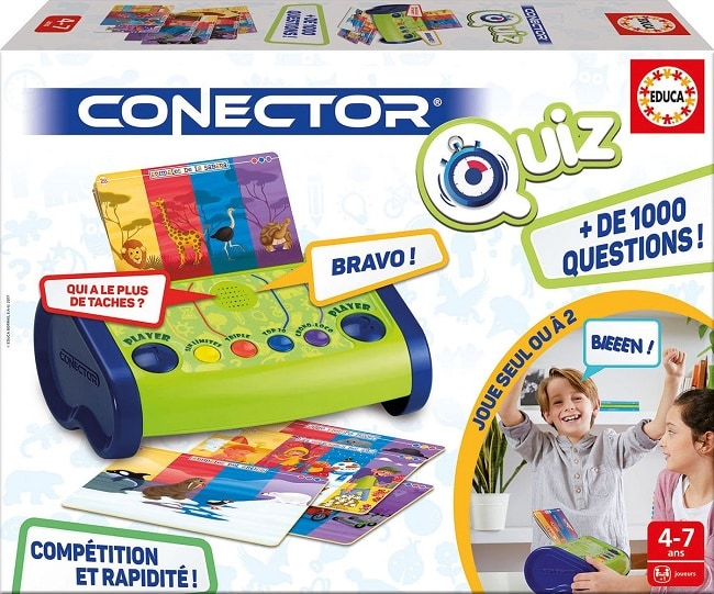 Connector Quiz un jeu Educa