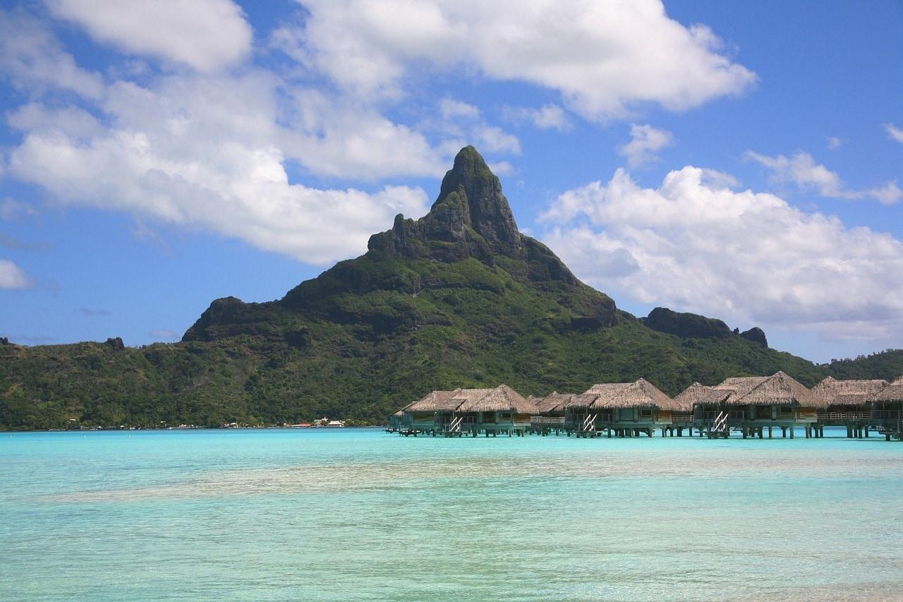 vacances en famille sur une île