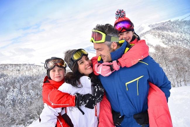 vacances au ski en famille en petite station familiale