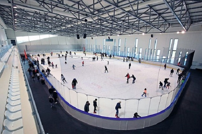 Aren'ice cergy pontoise patinoire couverte