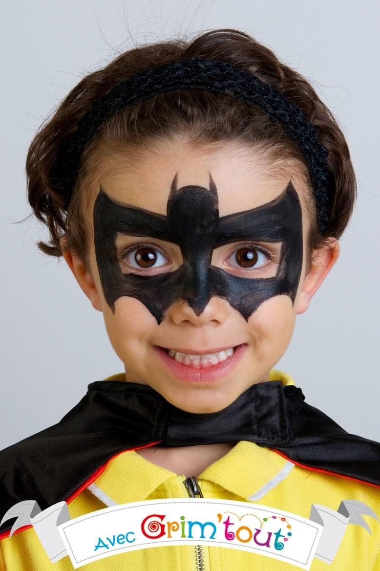 maquillage batman