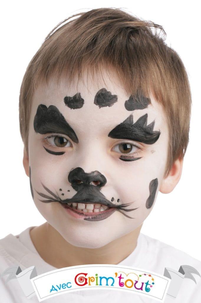 maquillage dalmatien