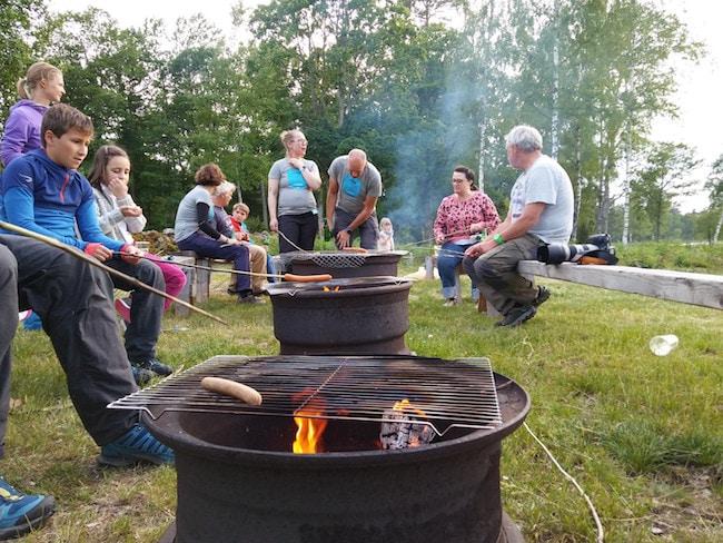 Vacances d'été en Suède