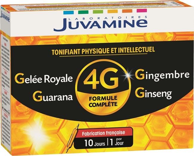 complément alimentaire Juvamine 4G ampoules