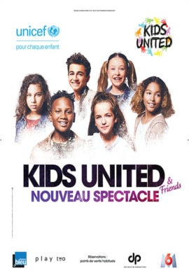 affiche nouveau spectacle 2018 Kids United