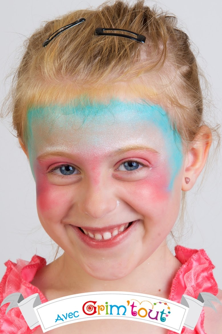 Maquillage facile pour enfant - Maquillage princesse facile ...