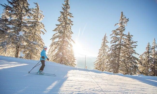 ski en pleine conscience