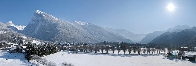 station village familiale de Samoëns
