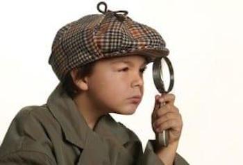anniversaire enfant detective