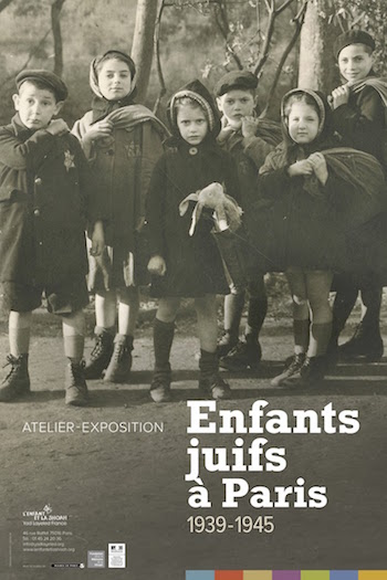 expo enfants juifs à paris
