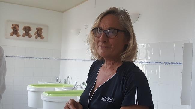 Françoise, responsable programme jeune maman thalasso le royal la baule
