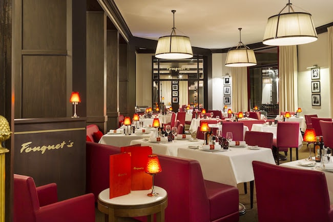 salle de restaurant hotel le royal la baule