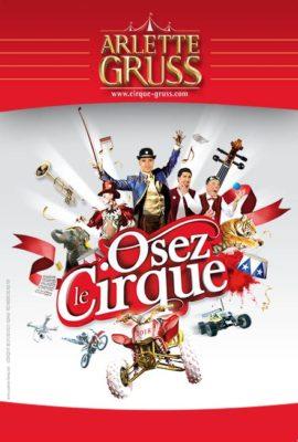 tournée 2018 Osez le cirque Arlette Gruss